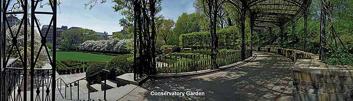 central park panoramic images